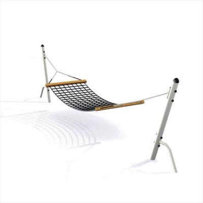 h ngematte mit metallpfosten f r spielplatz und kindergarten my little. Black Bedroom Furniture Sets. Home Design Ideas