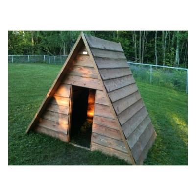 spielhaus dreieck f r spielplatz und kindergarten my little. Black Bedroom Furniture Sets. Home Design Ideas
