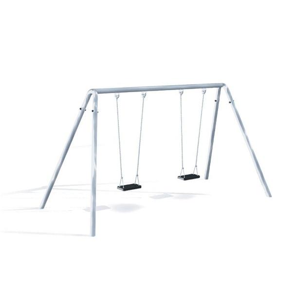 Brettschaukel Doppelschaukel Metall Fur Spielplatz Und Kindergarten