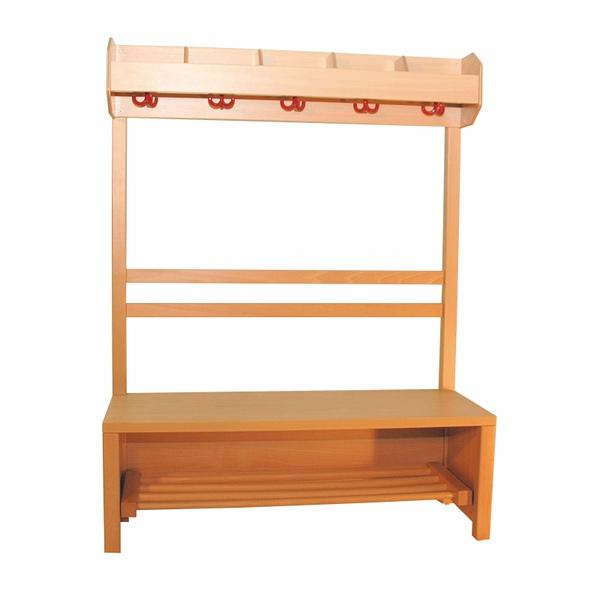 Komplette garderobe 5 pl tze f r kindergarten u krippe for Garderobe kinder