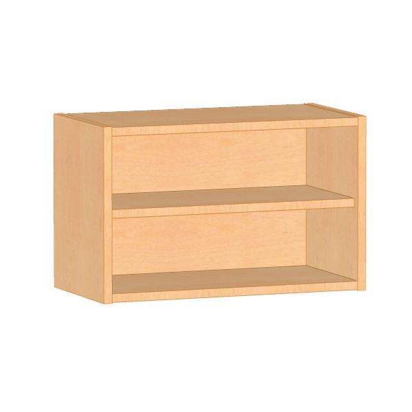 offener h ngeschrank f r kindergartenk che in kinderh he. Black Bedroom Furniture Sets. Home Design Ideas