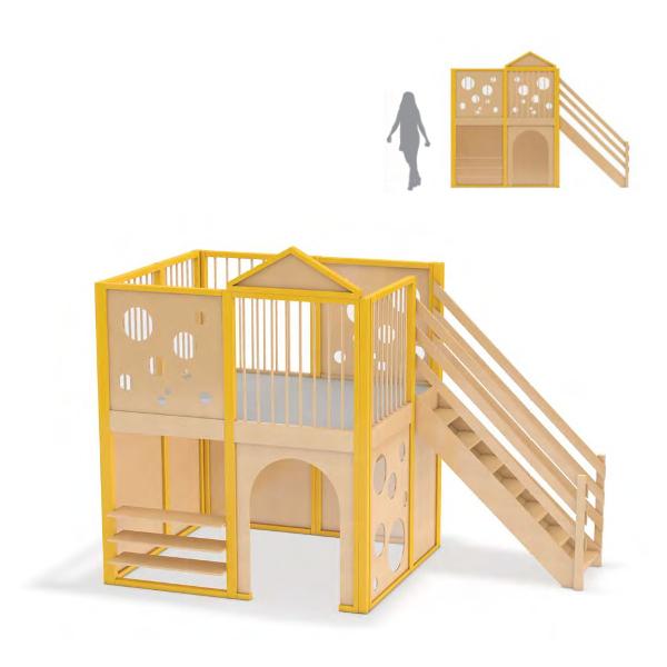 spielburg, spielhaus käseburg für kindergarten, benneckenstein - my, Design ideen
