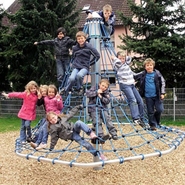 Mini Kletterpyramide Seilklettergerüst Karussell v. Hally Gally