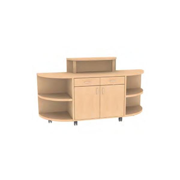 servierwagen auf rollen sonstige preisvergleiche erfahrungsberichte und kauf bei nextag. Black Bedroom Furniture Sets. Home Design Ideas