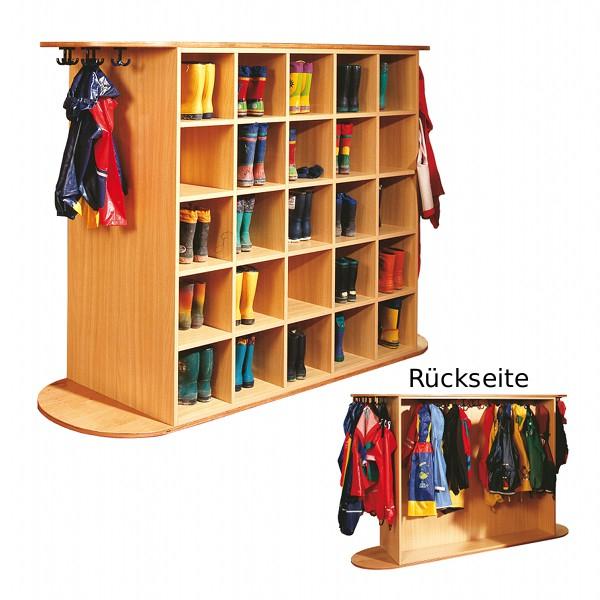 Kindergarten garderoben preisvergleiche for Garderobenwagen holz