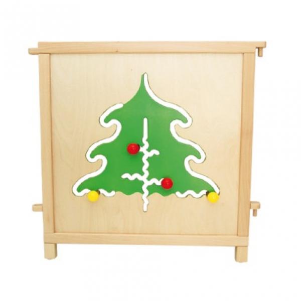 Raumteiler Nadelbaum für Kindertagesstätten, Benneckenstein